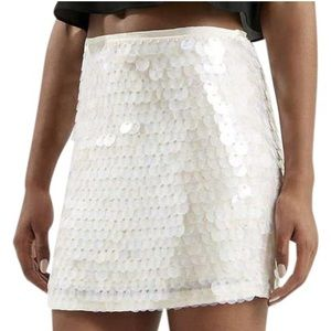 AS SEEN ON EMPIRE Topshop Iridescent Sequin Skirt
